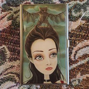 Classic Hardware bat girl cardcase